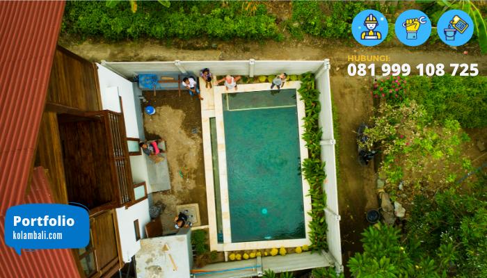 tukang kolam renang lombok