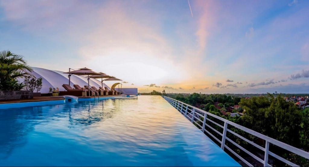 Kolam Renang Infinity Pool, kontraktor kolam renang