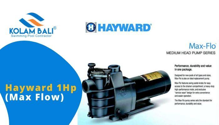 Pompa Kolam Renang Hayward 1Hp (Max Flow)